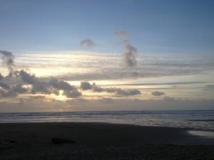 Sunset at Manzanita Beach
