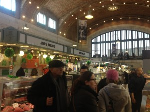Ruth and Emma at the West Side Market