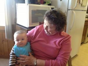 Aunt Carol and Baby Alex