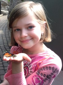 Breanna and the Butterfly