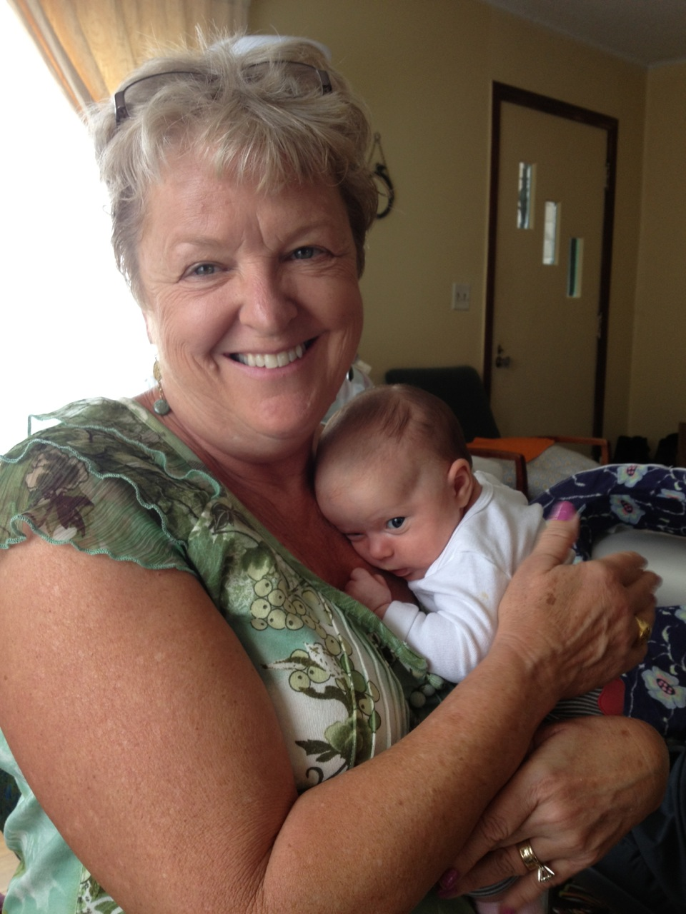 Colette nestles in with Grammy