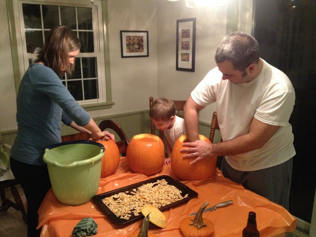 Hawley Pumpkin Carving