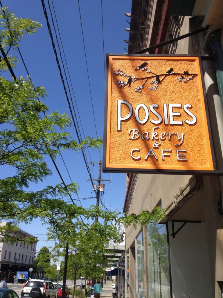 Stopped at Posies for refreshments